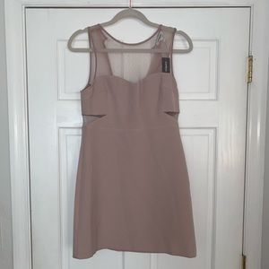 Lavender Express Mini Dress